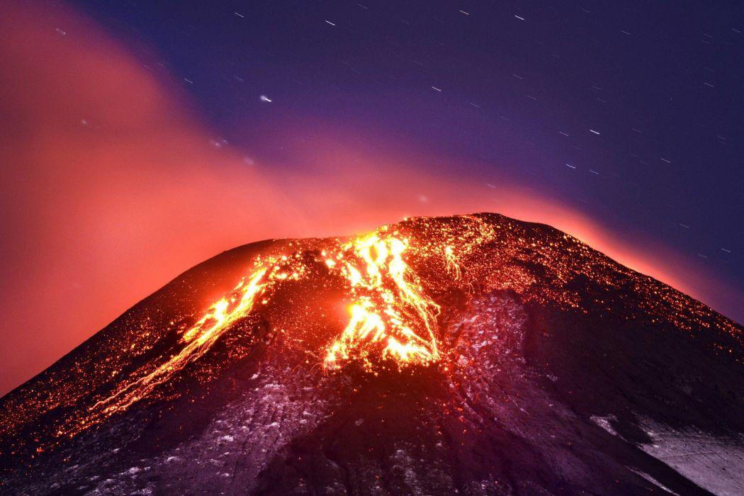 lava volcan naturaleza wallpaper