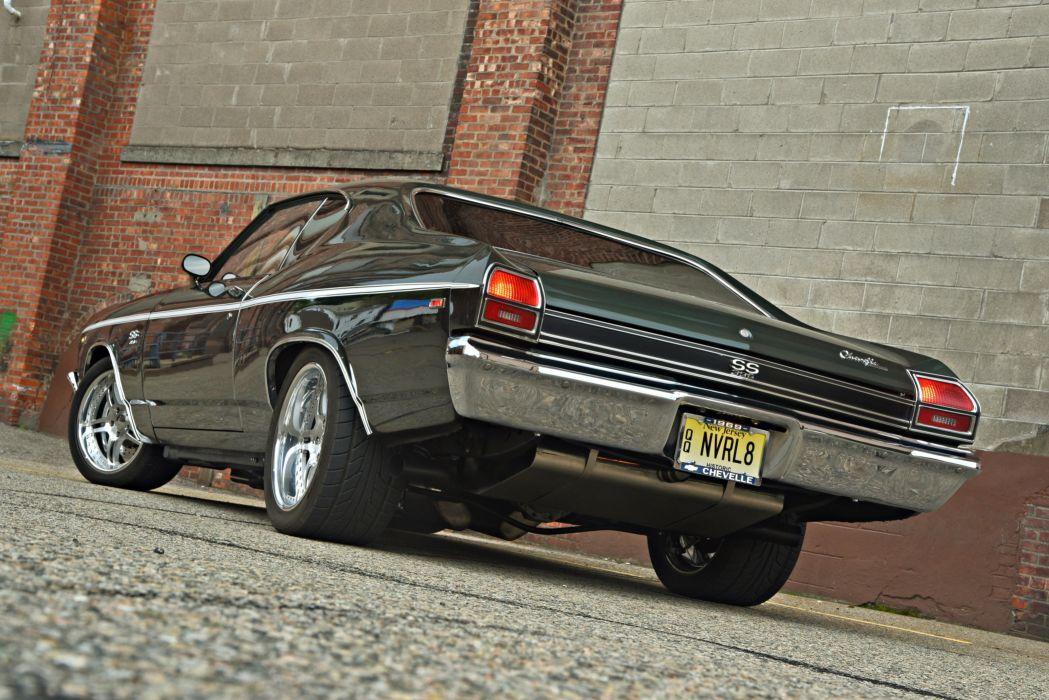 Chevrolet Chevelle cars 1969 wallpaper