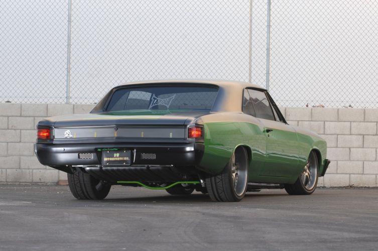 1967 Chevrolet Chevelle cars modified green wallpaper