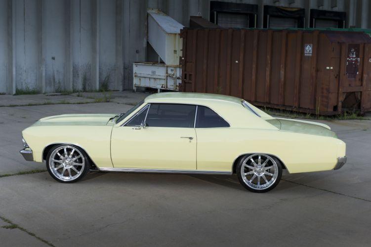 Chevrolet Chevelle cars 1966 wallpaper