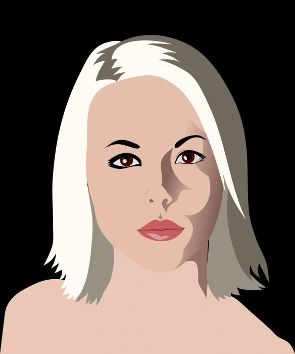 Woman Beauty Blonde Girl Mystery Sexy wallpaper