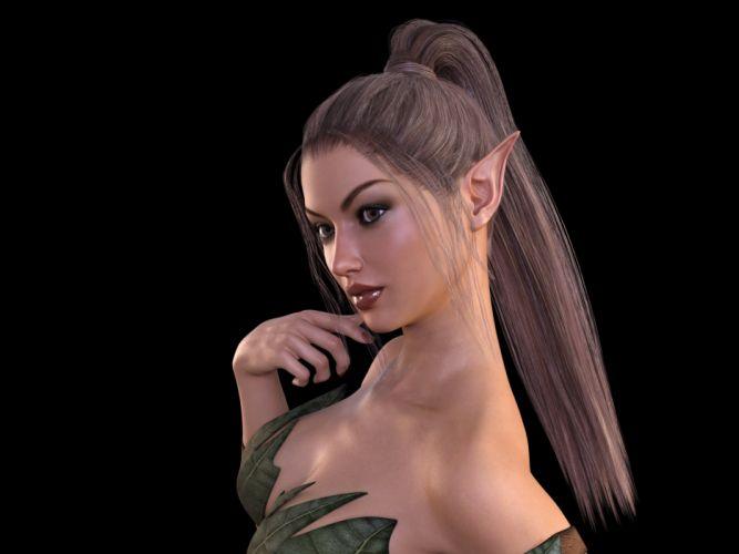 Elf Woman Fee Friendly Fairytale Fig Fantasy wallpaper