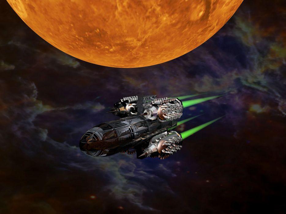 Science Fiction SpaceShip Rocket Space Rocket wallpaper