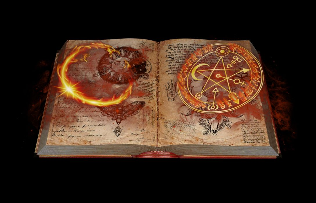 Book Mysticism Magic Mystical Fantasy Mysterious wallpaper