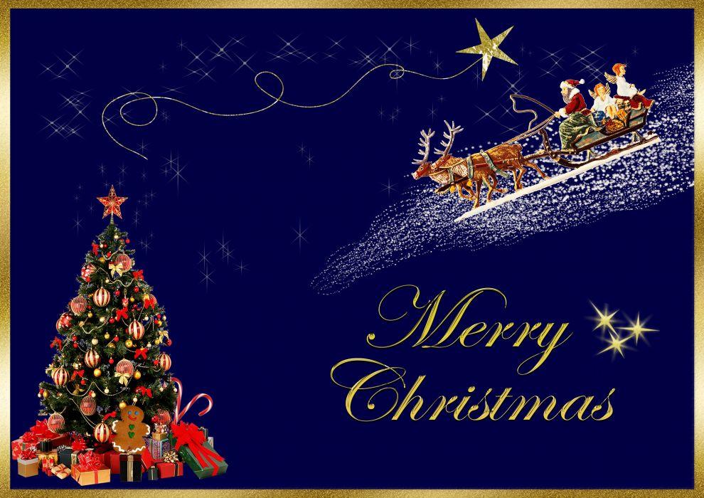 Christmas Card Merry Christmas Christmas Greeting wallpaper