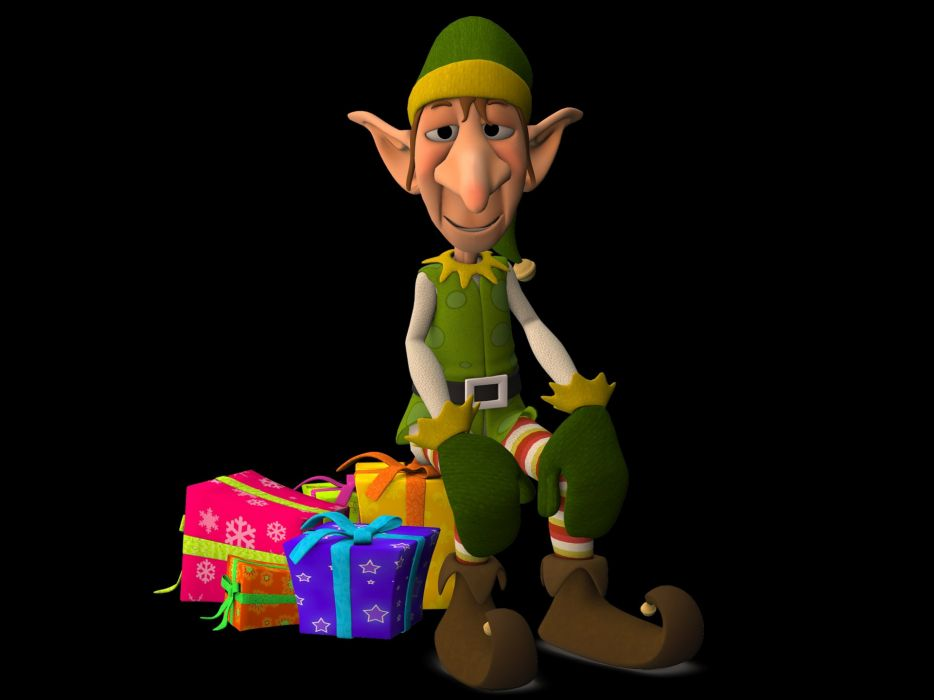 Eleven Fig Gifts Fairytale Ears Christmas wallpaper
