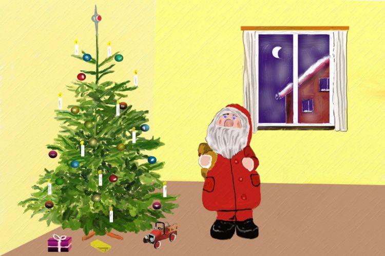 Santa Claus Christmas Nicholas Christmas Eve wallpaper