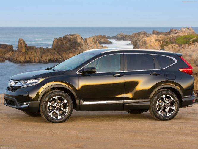 Honda CR-V cars black suv awd 2017 wallpaper