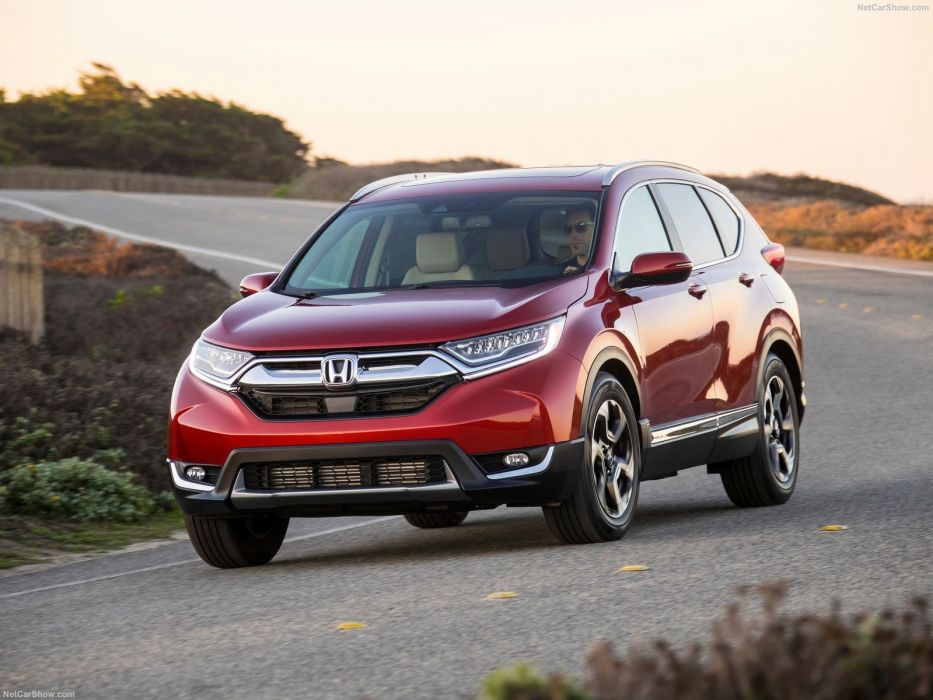 Honda CR-V cars red suv awd 2017 wallpaper