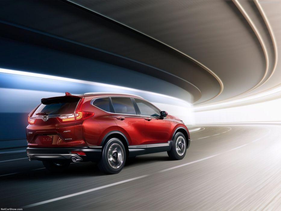 Honda CR-V cars red suv awd 2017 wallpaper