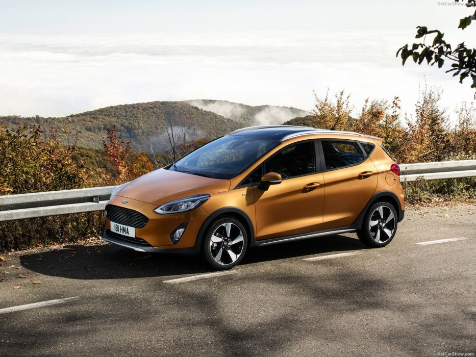 Ford Fiesta Active crossover cars 2017 wallpaper