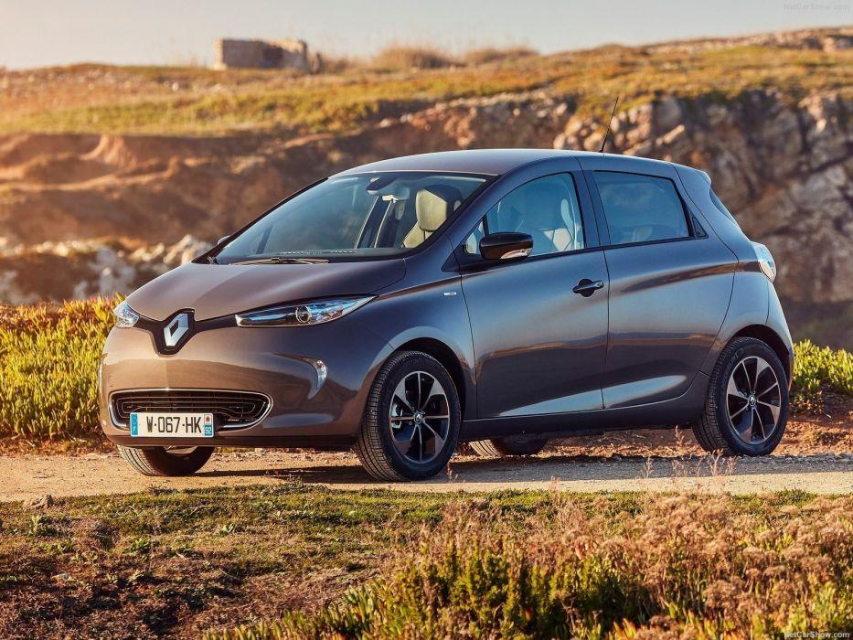 Renault Zoe cars electric 2016 wallpaper