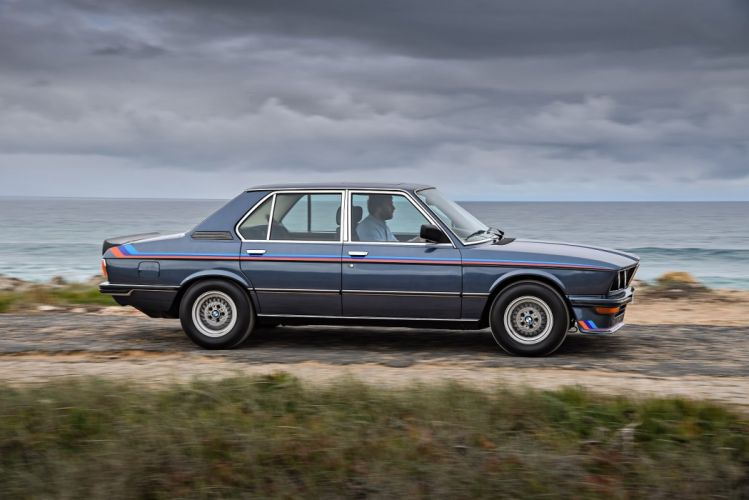 BMW M535i cars sedan (E12) 1980 wallpaper