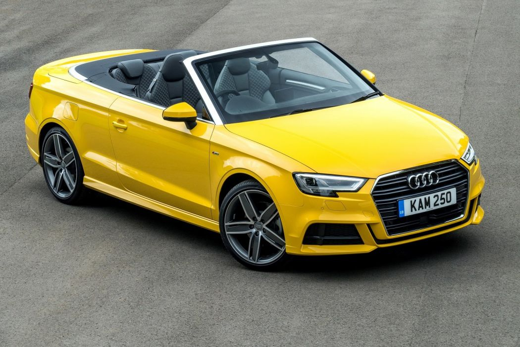 Audi A3 Cabriolet Tfsi S Line Uk Spec Cars Yellow 2016 Wallpaper 1500x1000 1058799 Wallpaperup