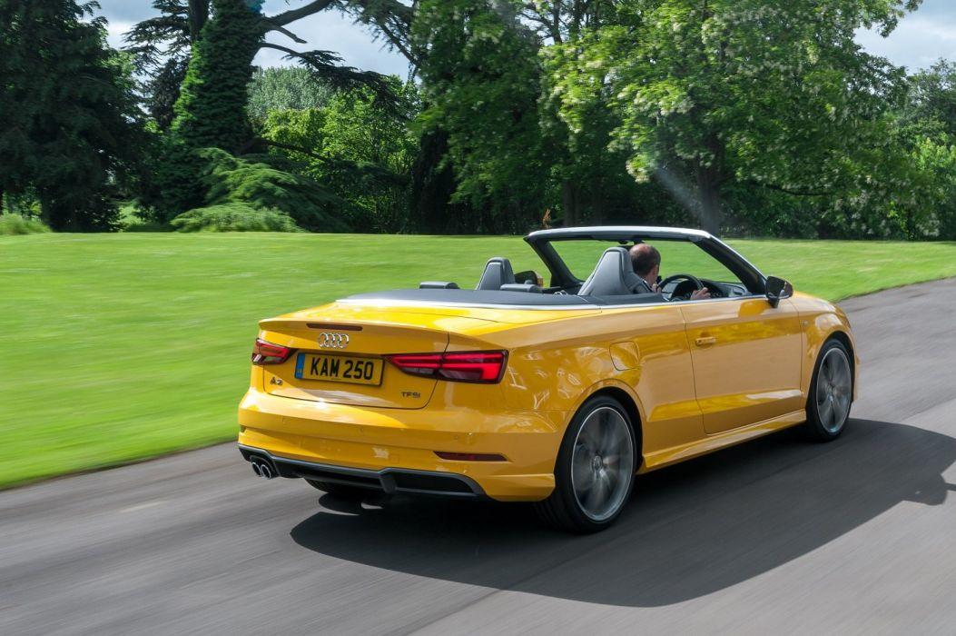 Audi (A3) Cabriolet TFSI S-line UK-spec cars yellow 2016 wallpaper