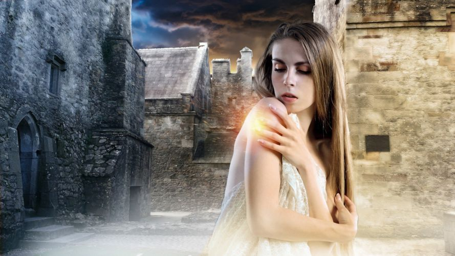 Gothic Fantasy Female Lady Fantasy Girl wallpaper