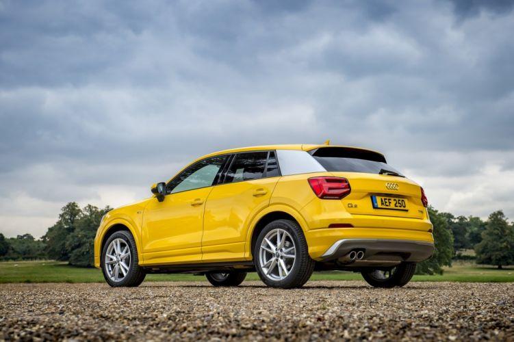 Audi (Q2) TFSI S-line UK-spec cars suv yellow 2016 wallpaper