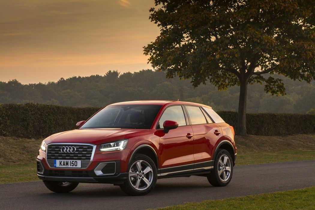 Audi (Q) TFSI sport UK-spec cars suv red 2016 wallpaper