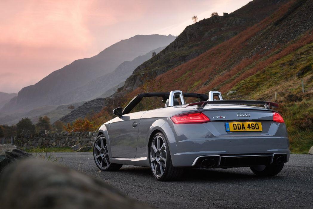 Audi; TTRS Roadster UK-spec cars (8S) 2016 wallpaper