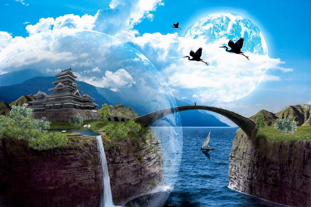Dream Landscape Fantasy wallpaper