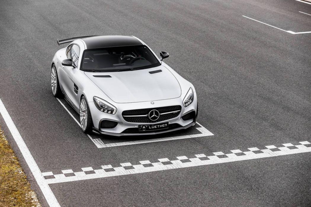 Mercedes AMG (GT) Luethen Motorsport cars modified wallpaper