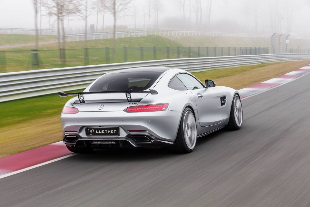 Mercedes AMG (GT) Luethen Motorsport cars modified wallpaper