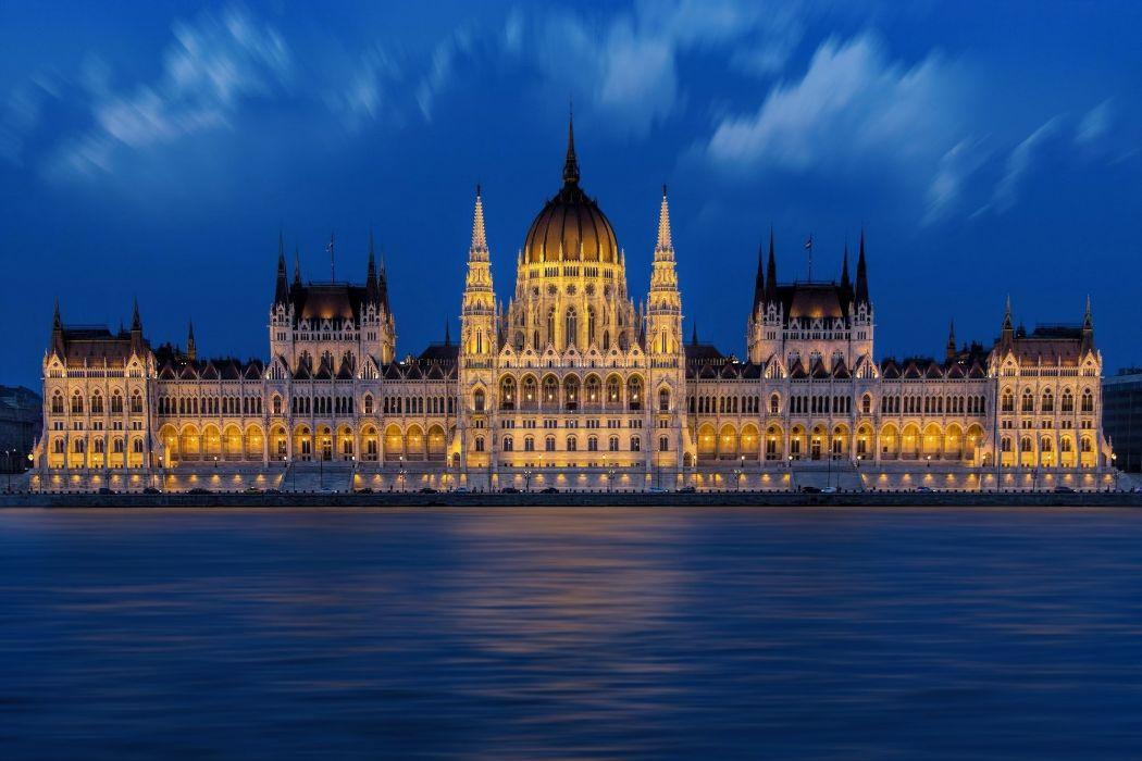 Budapest Buda Pest Parliament wallpaper