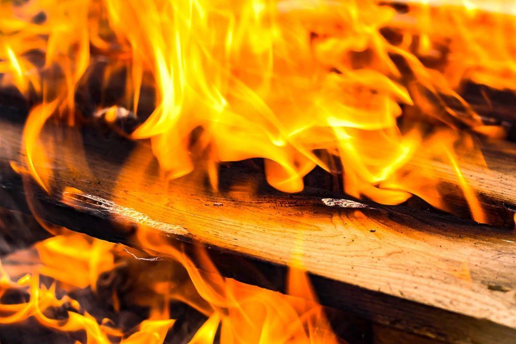 Fire Wood Flame Campfire Adventure Burn Fireplace wallpaper
