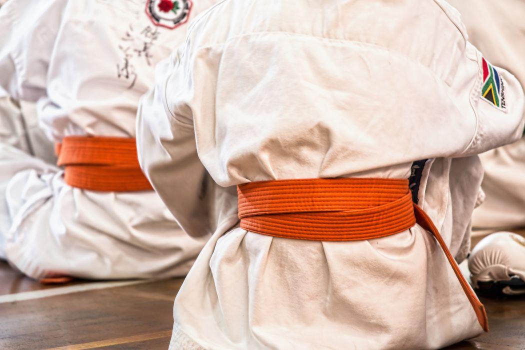 Karate Martial Arts Sport Belt Competition Defense wallpaper