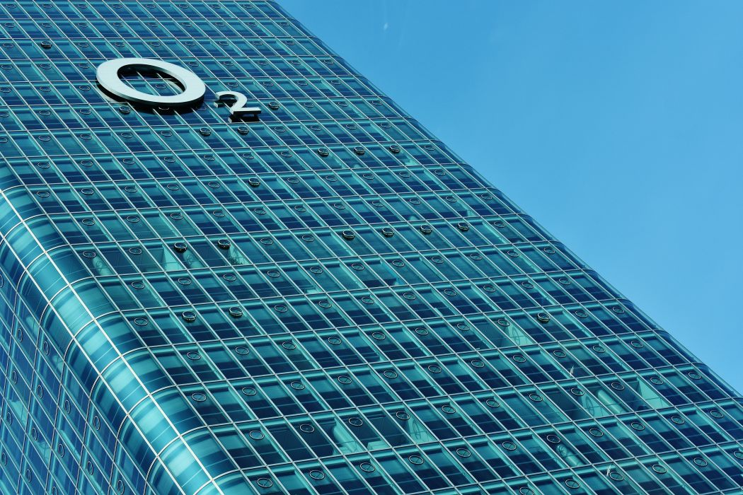 Munich O2 Building Moosach Modern Metal Facade skyscraper wallpaper