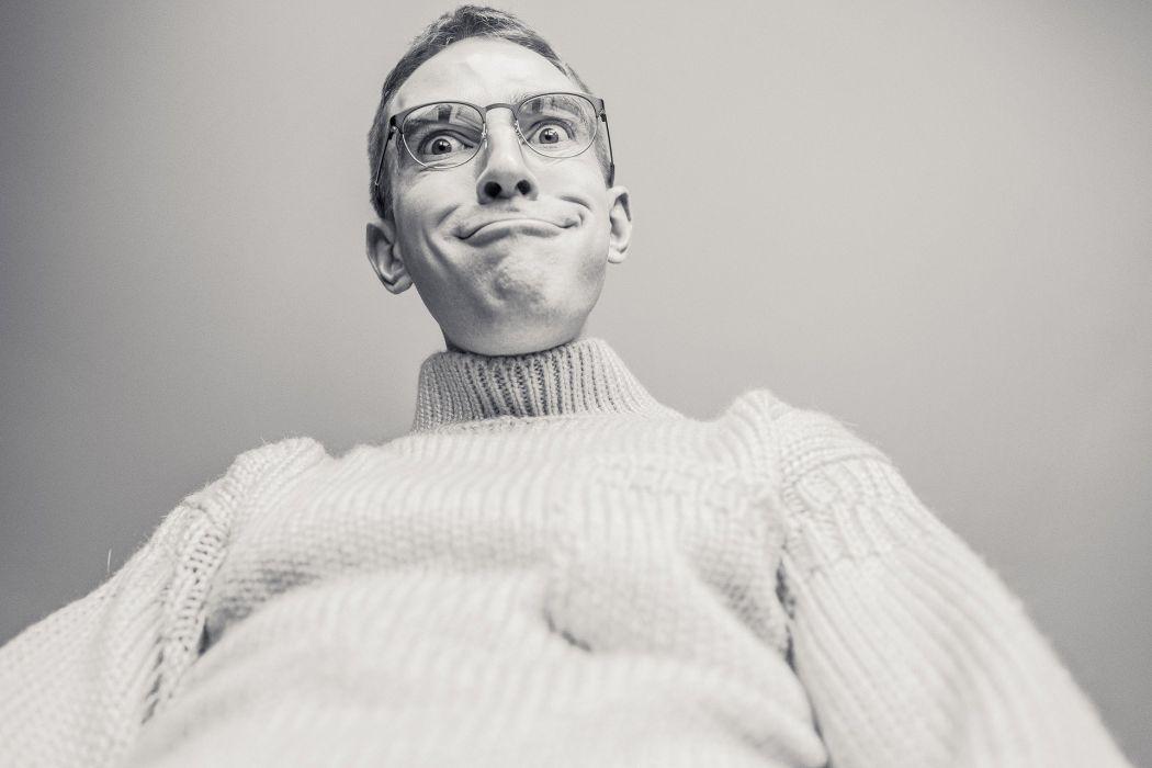 Man Silly Funny Crazy Weird Odd Peculiar Person wallpaper