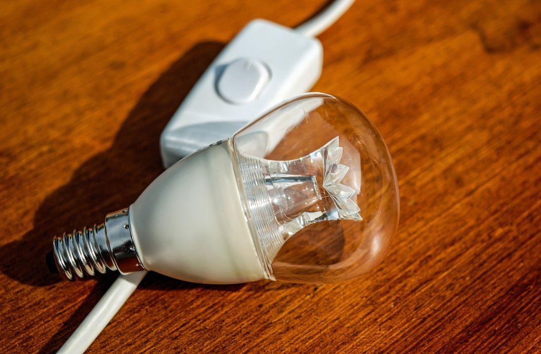Light Bulb Pear Current Energy Light wallpaper