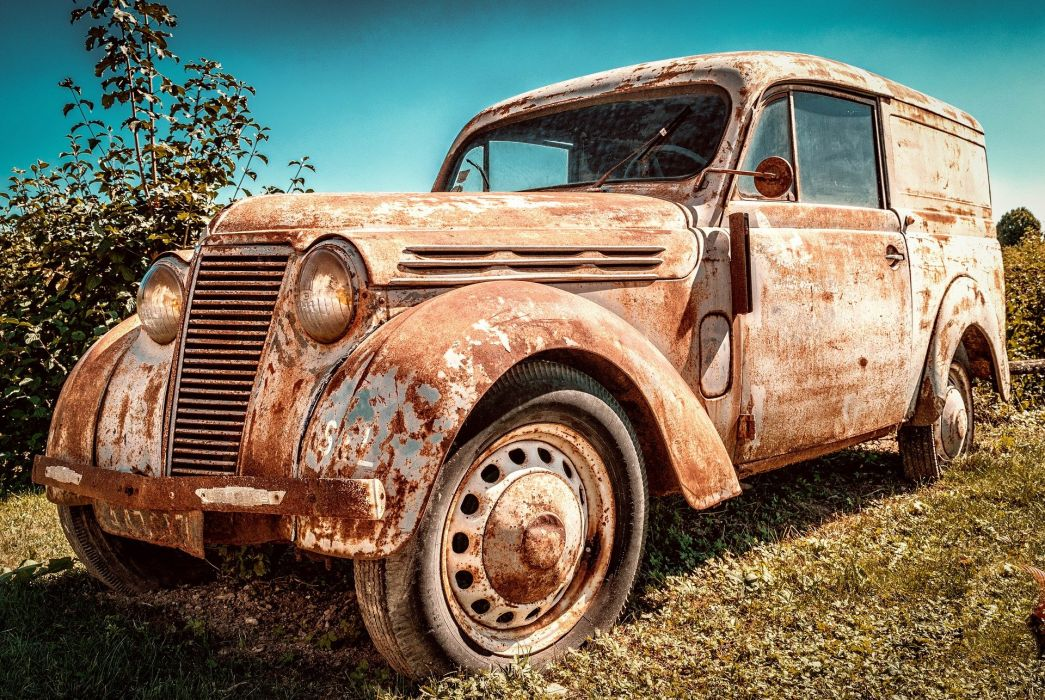 Auto Renault Juvaquatre Pkw Old Rarity France wallpaper