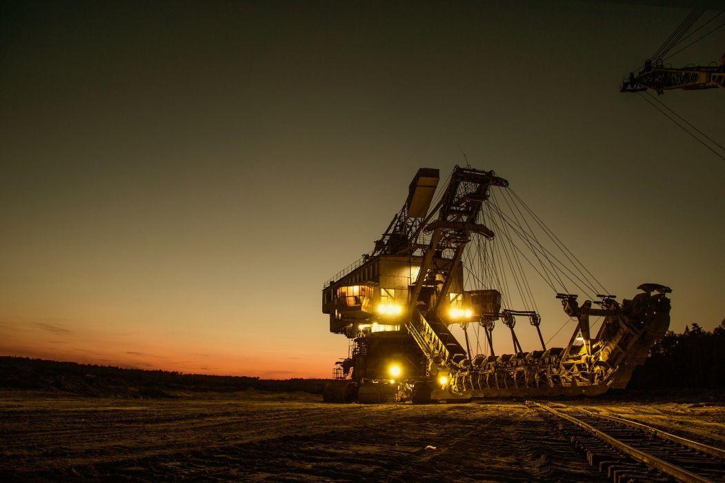 Mining Excavator Electric Bucket-Wheel Excavator wallpaper