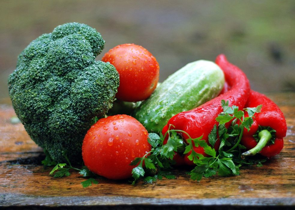 Vegetables Healthy Nutrition Kitchen Cooking Food wallpaper