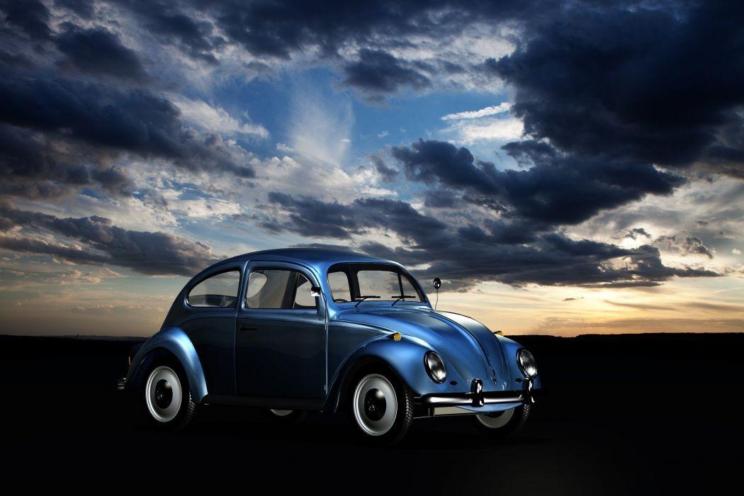 Volkswagen beetle wallpaper
