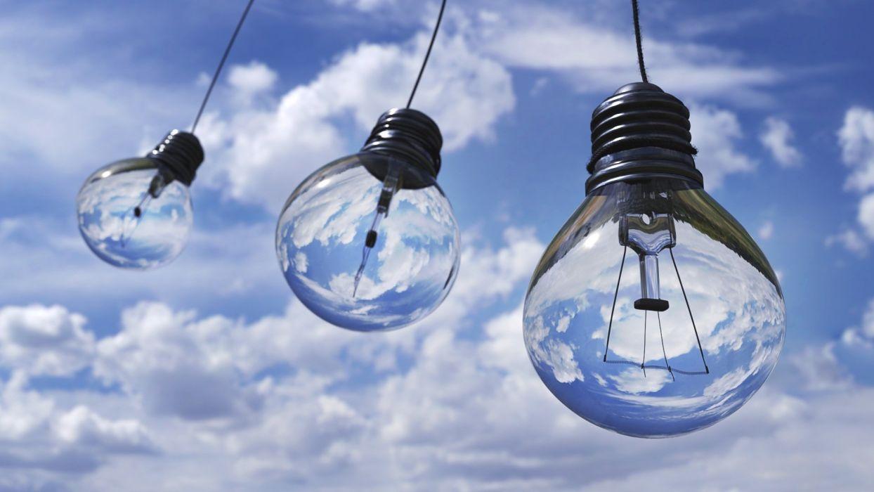 Light Bulb Light Halogen Bulb Lamp Electric wallpaper