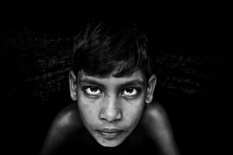 Black And White Photography Face Portrait boy male wallpaper