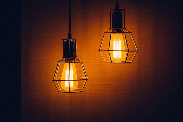 Light Lamp Electricity Power Design Electric interior wallpaper