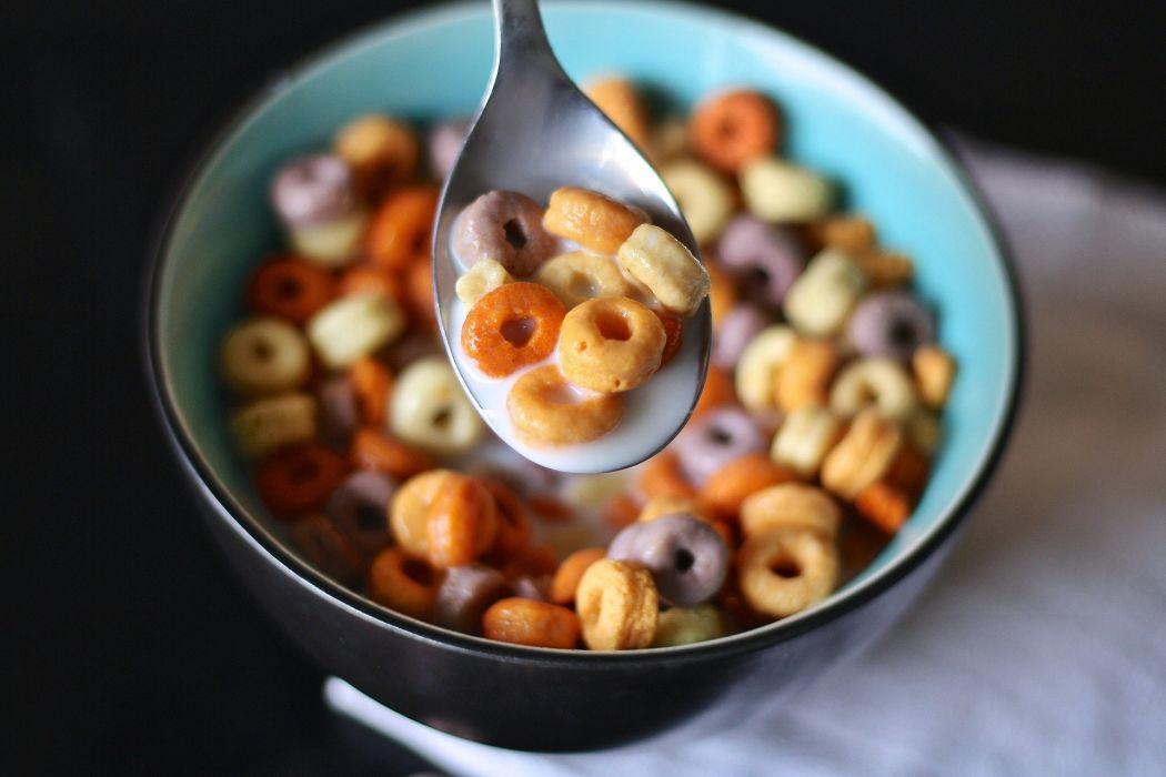 Cereal Spoon Milk breakfast wallpaper