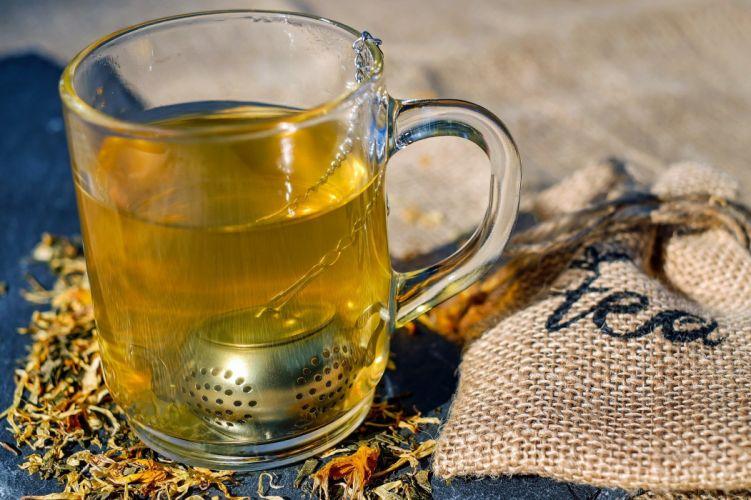 Glass Tea drink wallpaper