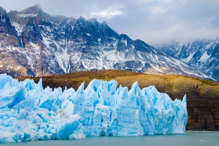 Chile Patagonia Flock Nature Glacier Travel mountain ice iceburg wallpaper