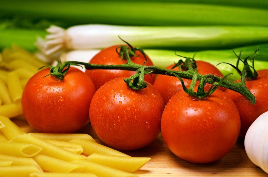 Vegetables Tomatoe Vegetable drops wallpaper