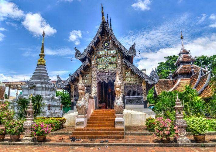 Chiang Mai Thailand Temple Religion wallpaper