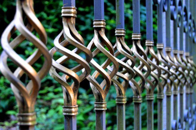 Iron Gate Wrought Iron Metal Gate Metal Railing wallpaper
