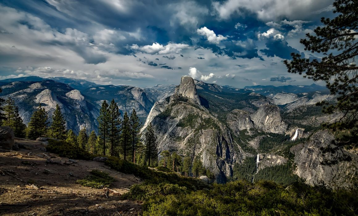 Yosemite National Park Landscape California wallpaper