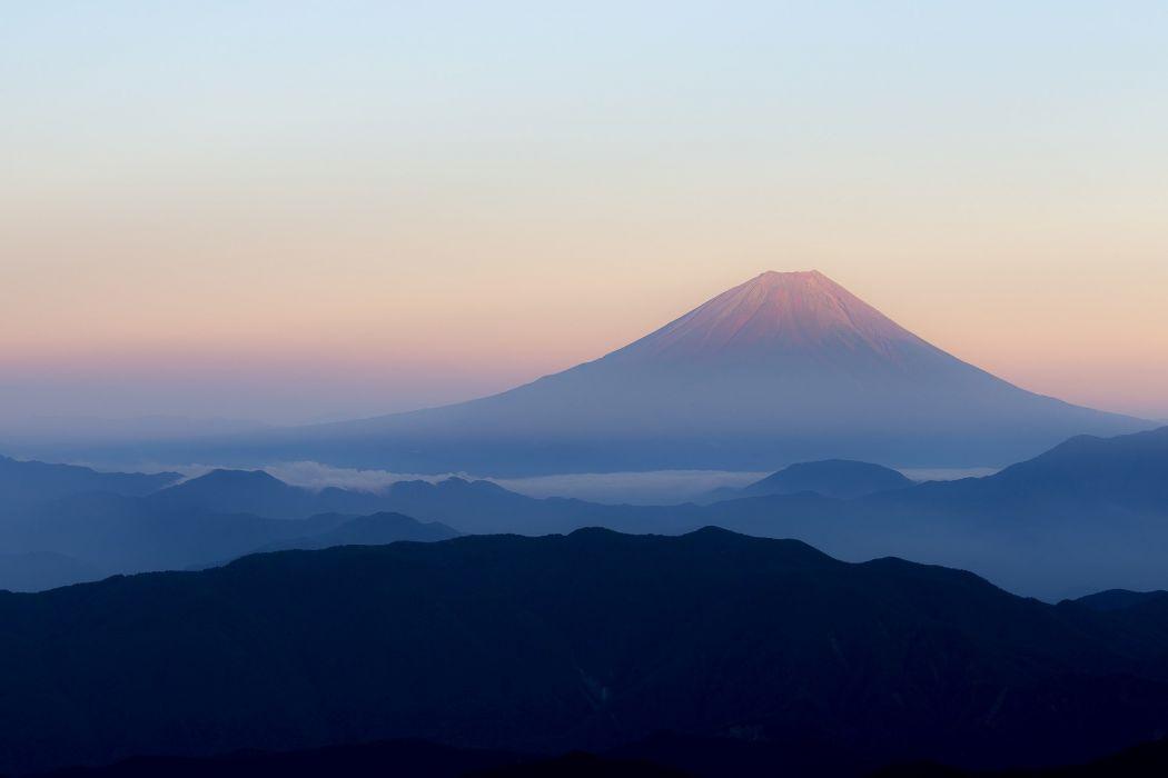 Mt Fuji Japan volvano wallpaper