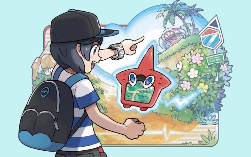 pokemon rotom wallpaper