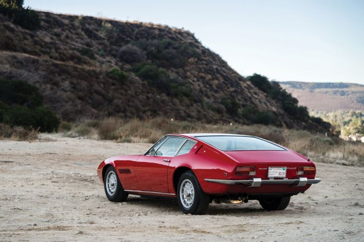 Maserati Ghibli (SS) cars coupe red classic 1970 wallpaper