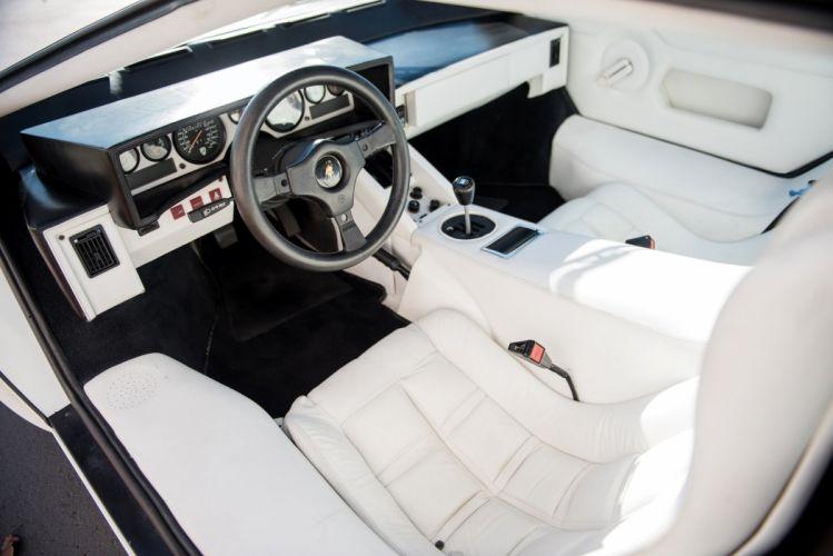 Lamborghini Countach LP5000S Quattrovalvole us-version white 1985 wallpaper